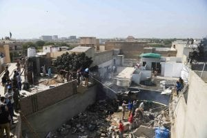 Pakistani Airbus SE A320 Crash into Residential Karachi Neighbourhood