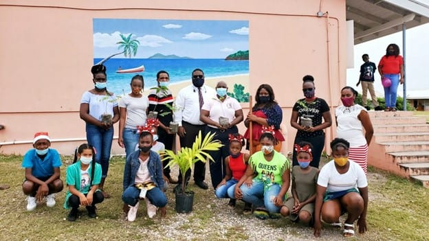 Youth Groups Plant Trees in Antigua & Barbuda