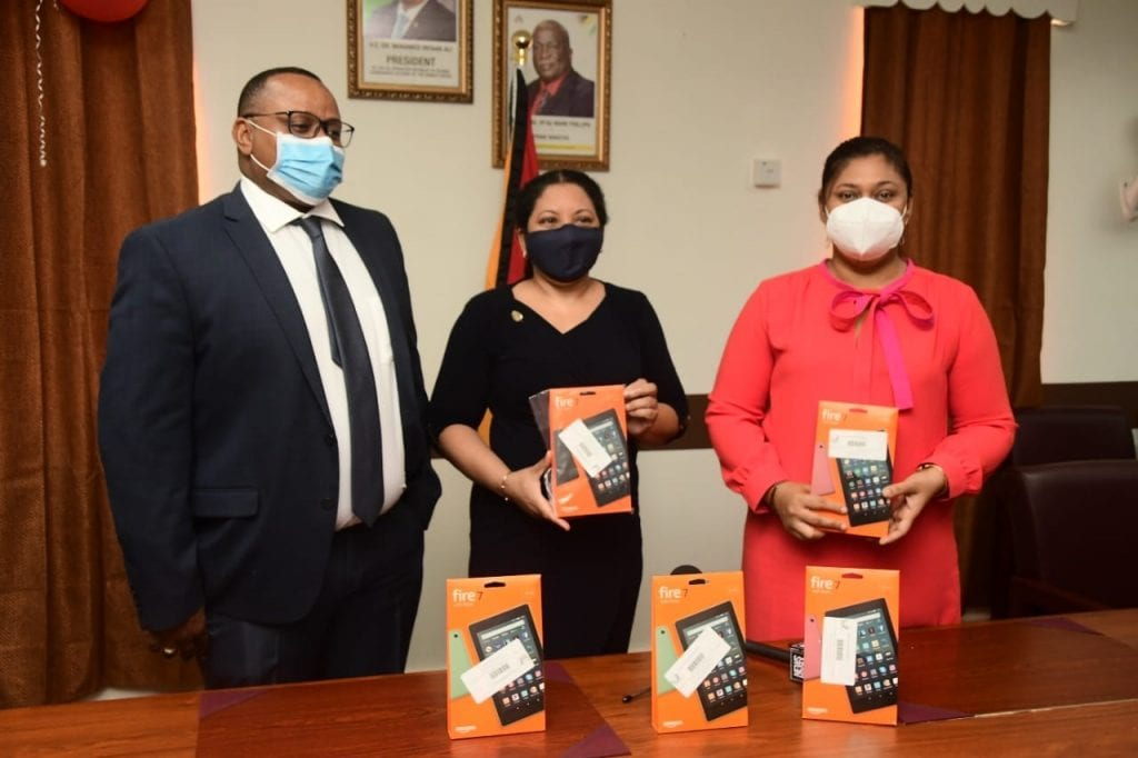 ANSA McAL Donates Tablets to Schools in the Caribbean