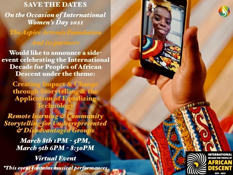 Virtual Workshops Celebrating The International Decade for Peoples of African Descent
